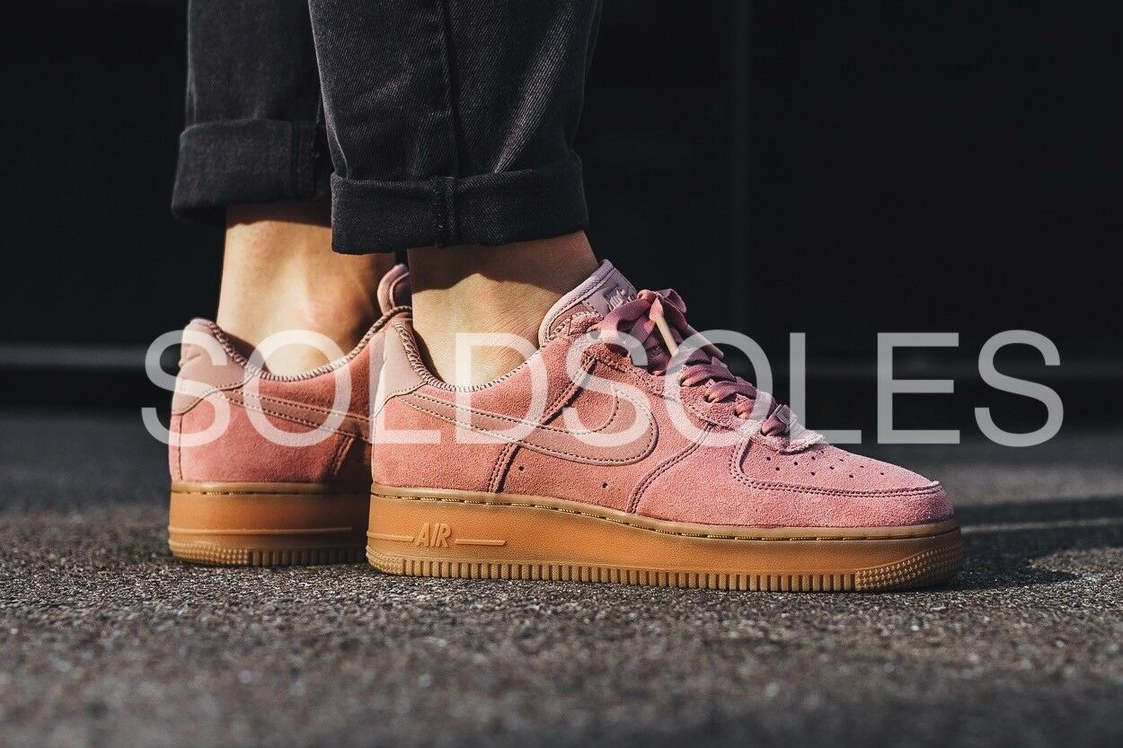 Nike Pink 1 Air Force 1 Pink low Suede Particle Pink Nike 90ac85 ... 6abf98