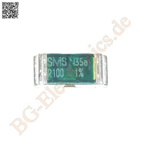 2 x SMD 0.10 Ω 2W SMD 0.10 Ohm Widerstand resistor /& Isabellen 2512 2pcs