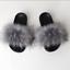 thumbnail 12 - Faux Fur Slides Fuzzy Fluffy Slippers Flat Soft Sandals Open Toe - US Seller