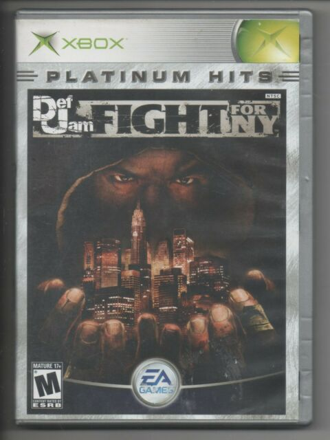Microsoft Xbox Def Jam Fight for NY Game Platinum Hits