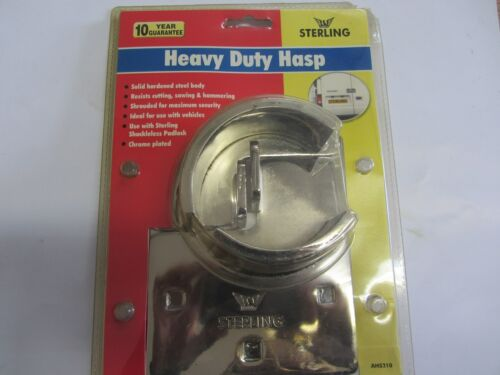 AHS210 Sterling Heavy Duty Van Hasp