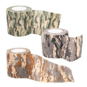 4-5M-Self-adhesive-Non-woven-Camouflage-Wrap-Rifle-Hunting-Camo-Stealth-Tape