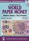 2015 Standard Catalog of World Paper Money - Modern Issues: 1961-Present by George S. Cuhaj (CD-ROM, 2014)