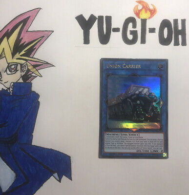 NM Yu-Gi-Oh Ultra Rare Union Carrier 1st Edition DUOV-EN009