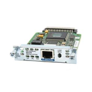 Cisco-HWIC-1DSU-T1-1-Port-T1-DSU-CSU-Module-1-Year-Warranty