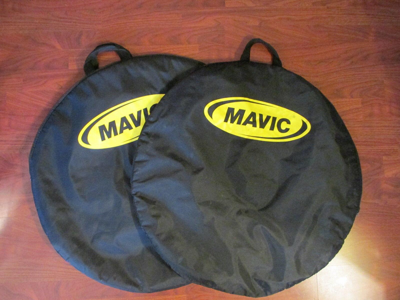MAVIC ZIPPERED PADDED WHEEL BAG SET (2)