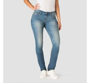 ab3279e7bd Details about DENIZEN from Levi's Women's Curvy Slim Denim Jeans, Blue Ice,  New, Free Shipping