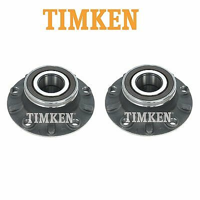 For BMW E38 Pair Set of 2 Front Wheel Bearings /& Hub Assemblies Timken HA592519