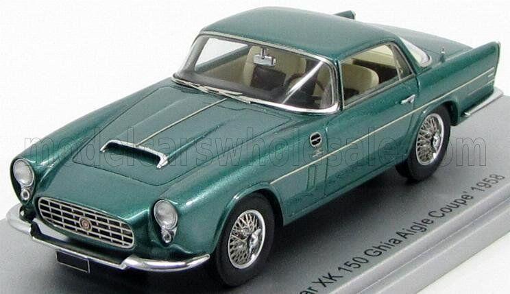 Wonderful modelcar  JAGUAR XK150 GHIA AIGLE COUPE - Grünmetallic - lim.ed.400