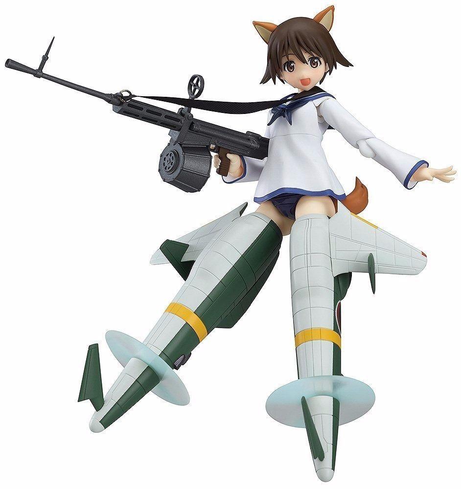 Figma 275 Strike Hexen The Movie Yoshika Miyafuji Shinden Version Figur Neu