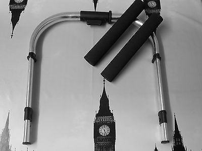 X2 HANDLEBAR FOAM GRIPS REPLACEMENT TO FIT BUGABOO CAMELEON1,2/&3FREE POST TO UK