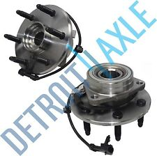 Both (2) Premium Complete Front Wheel Hub Bearing Assembly - 4x4 / 4WD ONLY