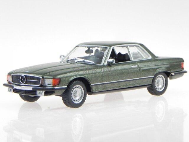 Mercedes C107 450 SLC 1974 green modelcar 940033420 Maxichamps 1 43