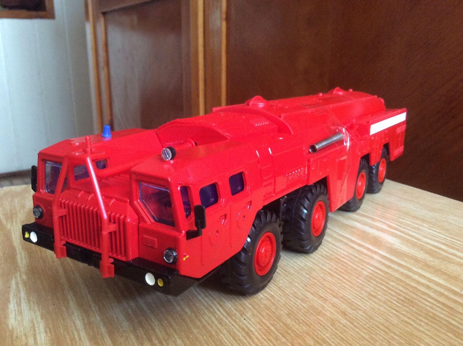MAZ-7310 camión de bomberos Soviética URSS 1 43 Modelo 1 43 Elecon