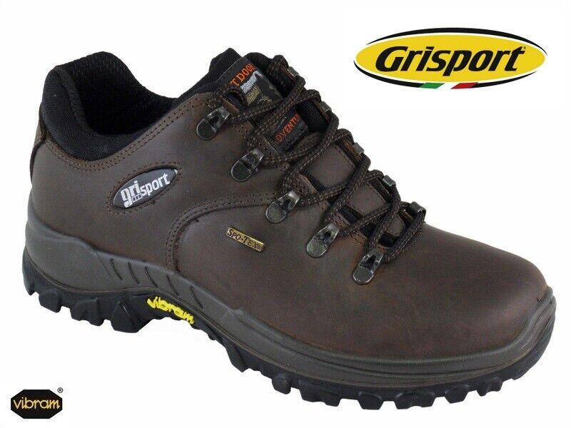 greyPORT DARTMOOR WALKING SHOES - WATERPROOF VIBRAM Eu sizes