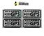 miniatuur 5 - Adhesivos Antirrobo Satélite GPS Stickers Auto Moto Scooter 2 Colores Alarma