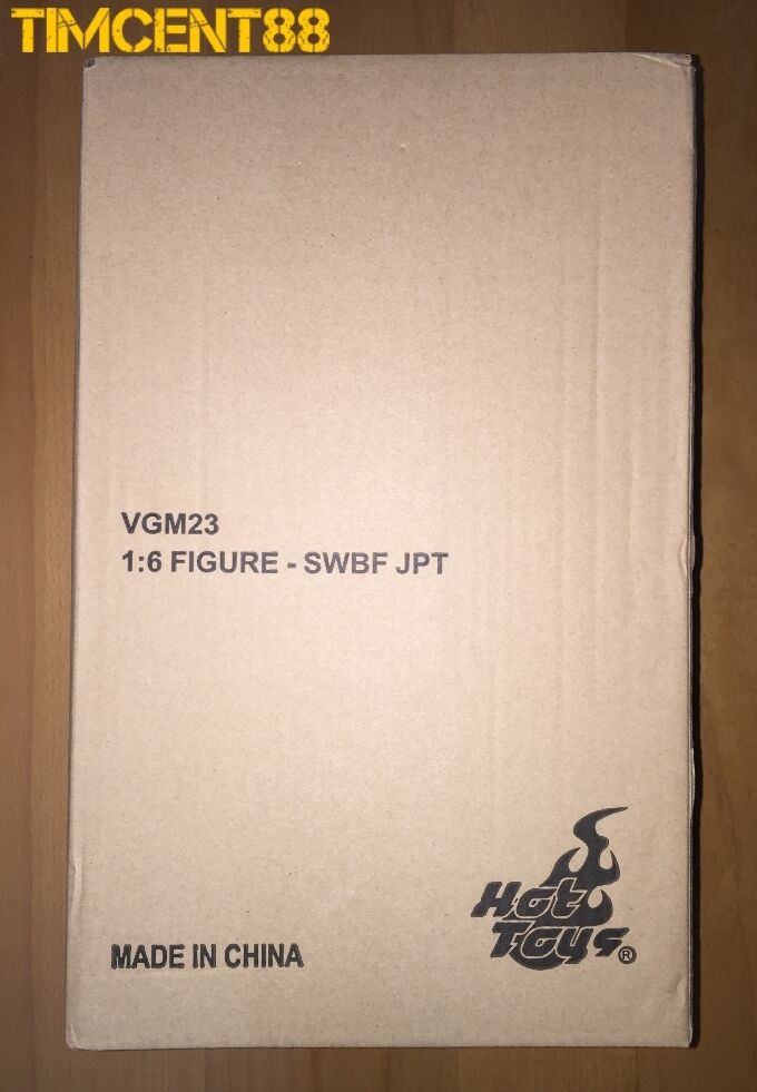 Ready  Hot Toys VGM23 Star Wars Battlefront 1 6 Jumptrooper 2016 Fair Exclusive