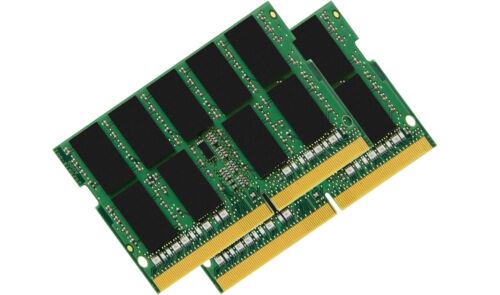 2x16GB Memory SODIMM For Skylake Laptop 2133Mhz PC4-17000 DDR4 32GB