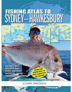NEW-AFN-Fishing-Atlas-Guide-to-Sydney-Hawkesbury-By-Gary-Brown-Paperback