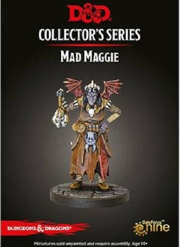 """DUNGEONS /& DRAGONS 71090 MAD MAGGIE   /""""DESCENT INTO AVERNUS/"""""""