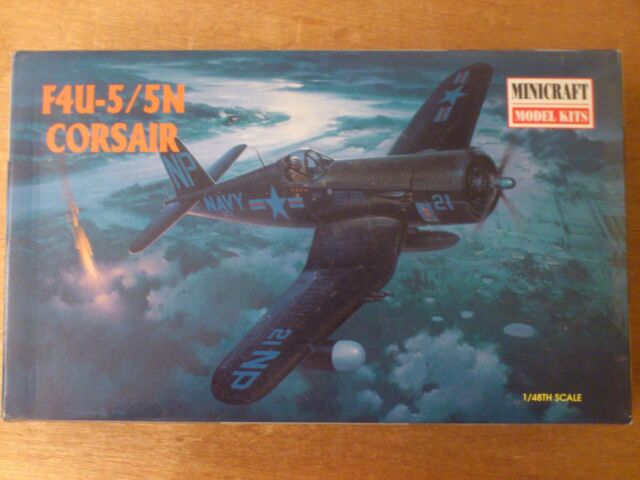 1:48 Minicraft Núm 11617 F4U-5/5N Corsair. Juego. Emb.orig