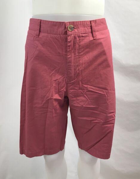 "1901 Uomo Ballard Slim 100% Cotton Shorts, 11 "" Cavallo, Uomo Taglia 34"