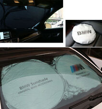 150cm*70cm Sonnenschutz Sonnenrollo Sonnenschutzrollo Universal Auto für BMW M