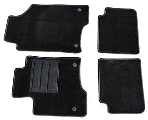 Tappetini su Misura Citroen DS4 Set Completo Moquette Alta Qualità 1Ricamo
