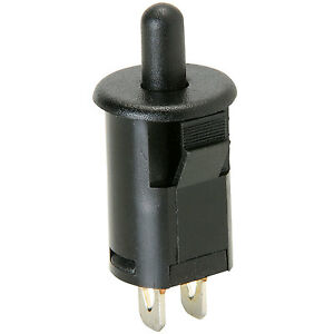 Parts Express Momentary N.O Classic Large Push Button Switch Red