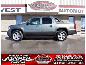 2011 Chevrolet Avalanche LT2 1SC CREW 5.3L 4X4, LEATHER, SUNROOF, LOADED!