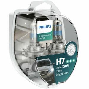 2X PHILIPS X-tremeVision Pro150 Xtreme Vision Pro 150 auto dei fari lampadine H7