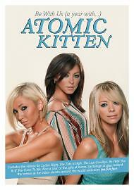 1 of 1 - Atomic Kitten - Be With Us - A Year With Atomic Kitten (DVD, 2003)