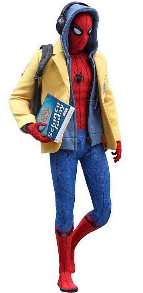 Spider -Man Hemcoming Movie Masterpiece Spider -Man samlaible Figur