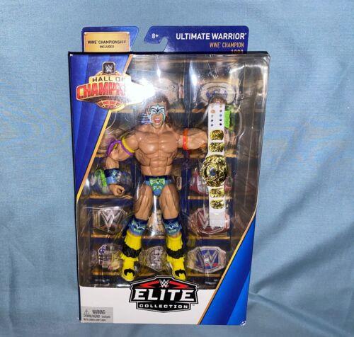 WWE Mattel Elite Hall of Champions Exclusive Ultimate Warrior Figure Flashback