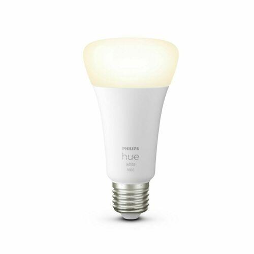 PHILIPS Hue White E27 Bluetooth Lampe App Control Alexa 1600lm 15.5W LED=100W