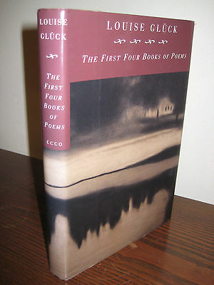 First Four Books Of Poems Louise Gluck Poetry 1st Edition First Printing Ebay