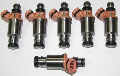 23209-74080 1993-97 SET of Six OEM Fuel Injectors Lexus /& Toyota 4.5L
