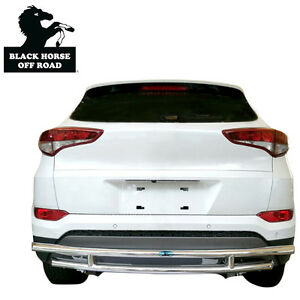 Details About Black Horse Rear Per Guard Double Layer Stainless Fi 2017 Acura Mdx