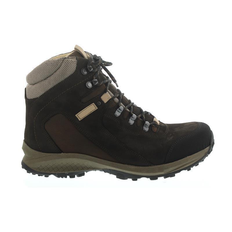 Waldläufer Outdoor, Waldläufer-Tex, Gummikappe   Nubukled., black   brown, Wei