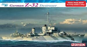 Destroyer Z-32 Allemand 1/350 Dragon