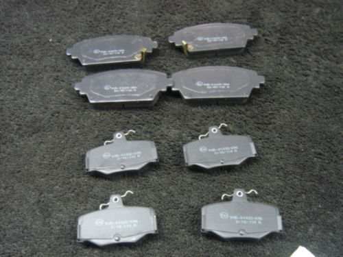 FOR NISSAN ALMERA TINO BRAKE PADS FRONT REAR MINTEX