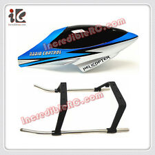 HEAD COVER CANOPY LANDING GEAR FOR DH9104 RC HELICOPTER SPARE PARTS 9104 -18 24