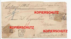 Beleg-Norddeutscher-Postbezirk-5-Groschen-Stempel-Neustadt-Westpreussen-Wejherow