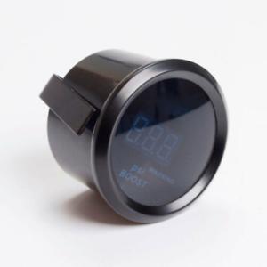 Universal-2-034-52mm-LED-Car-Digital-Blue-With-Sensor-PSI-Turbo-Boost-Gauge-Meter