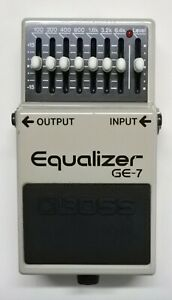 BOSS-GE-7-Equalizer-Guitar-Effects-Pedal-made-in-Japan-1991-197-Free-Shipping