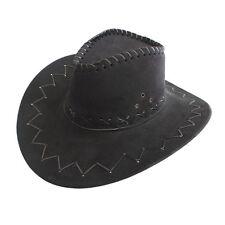 8ed0a68df7a4a Children Kid s Jazz Bull Rider Suede Cowboy Western Montana Travel Hat  Sunhat