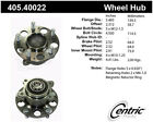 Wheel Bearing and Hub Assembly-Premium Hub Assemby Rear Centric 405.40022