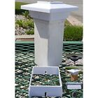 Solar Post Cap Deck Light 4x4 White Low Profile 4 SMD LEDs Sun (1 Pack) PL251