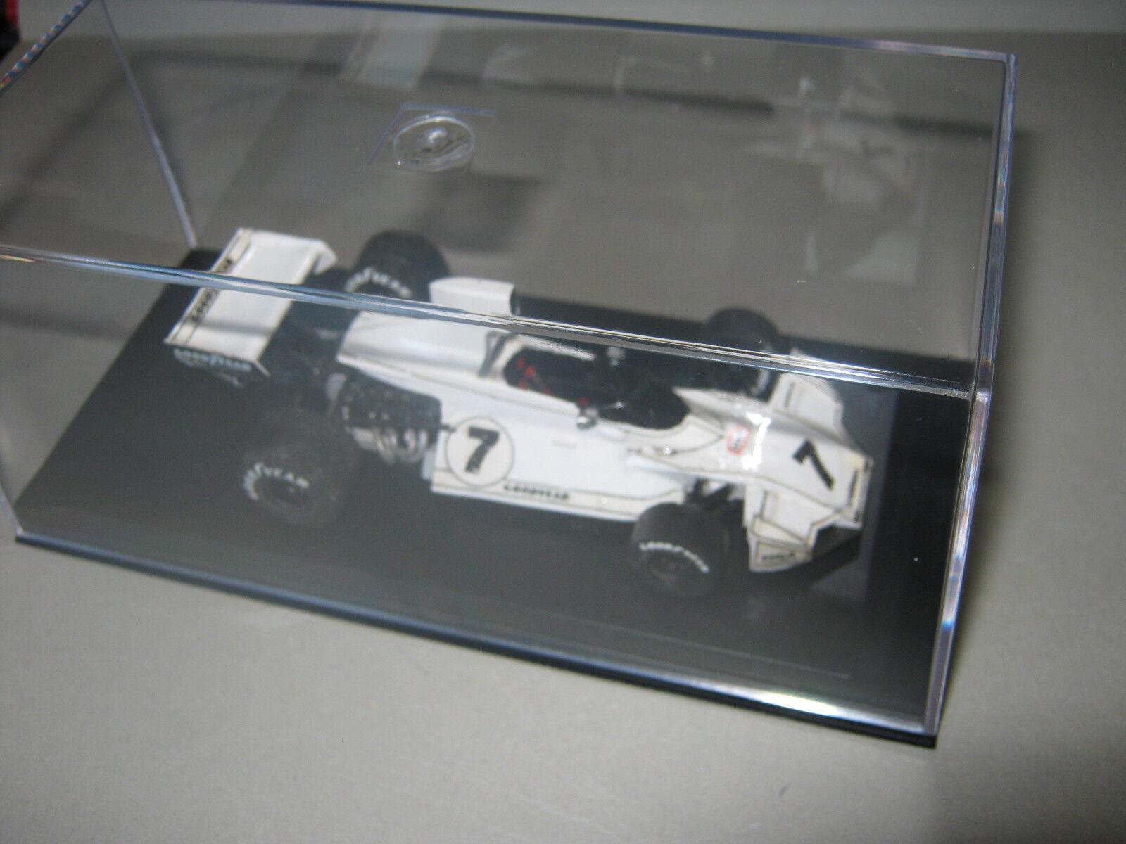 1 43 Brabham Ford BT44 C. C. C. Reutemann Monaco GP 1974 Tenariv handbuilt modelcar 6d65fb