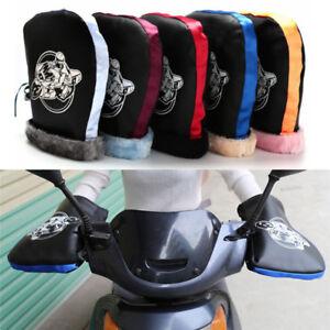 Motorcycle-Handlebar-Snowmobile-Waterproof-Winter-Hand-Warm-Covers-Gloves-U-NTAT